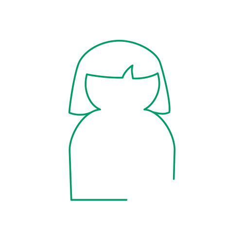 Lady avatar icon